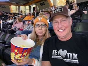 Jeffrey attended Tennessee Lady Vols vs. Air Force - NCAA Women's Basketball **please See Notes Before Claiming** on Dec 1st 2019 via VetTix