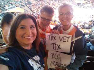 Michael attended Tennessee Lady Vols vs. Air Force - NCAA Women's Basketball **please See Notes Before Claiming** on Dec 1st 2019 via VetTix