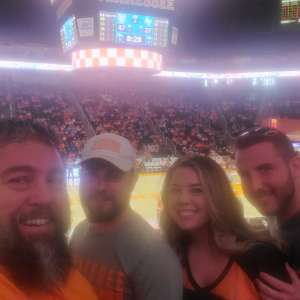 Scott attended Tennessee Lady Vols vs. Air Force - NCAA Women's Basketball **please See Notes Before Claiming** on Dec 1st 2019 via VetTix