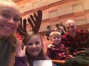 David attended RUDOLPH THE RED-NOSED REINDEER - The Musical Saturday on Nov 23rd 2019 via VetTix