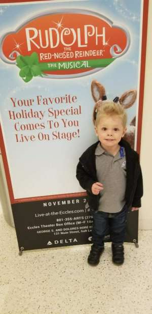 Linda attended RUDOLPH THE RED-NOSED REINDEER - The Musical Saturday on Nov 23rd 2019 via VetTix