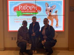 Larry  attended RUDOLPH THE RED-NOSED REINDEER - The Musical Saturday on Nov 23rd 2019 via VetTix