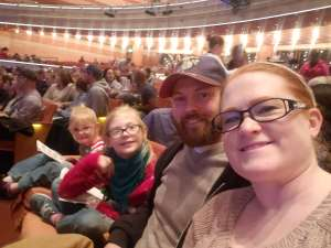 Matthew attended RUDOLPH THE RED-NOSED REINDEER - The Musical Saturday on Nov 23rd 2019 via VetTix