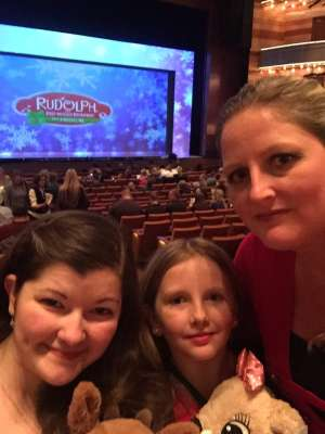 Thomas attended RUDOLPH THE RED-NOSED REINDEER - The Musical Saturday on Nov 23rd 2019 via VetTix