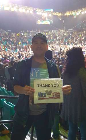 Manuel attended Premier Boxing Champions: Wilder vs. Ortiz II on Nov 23rd 2019 via VetTix