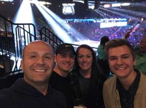 Matthew attended Premier Boxing Champions: Wilder vs. Ortiz II on Nov 23rd 2019 via VetTix