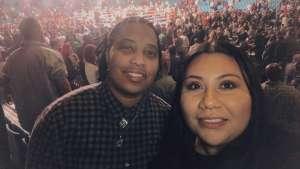 Kittrell attended Premier Boxing Champions: Wilder vs. Ortiz II on Nov 23rd 2019 via VetTix