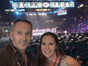 Justice attended Premier Boxing Champions: Wilder vs. Ortiz II on Nov 23rd 2019 via VetTix
