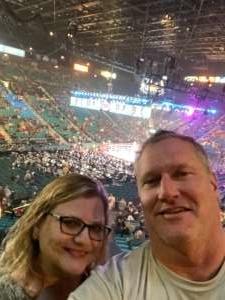 David attended Premier Boxing Champions: Wilder vs. Ortiz II on Nov 23rd 2019 via VetTix