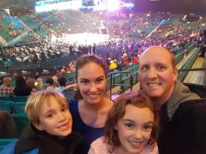 Travis attended Premier Boxing Champions: Wilder vs. Ortiz II on Nov 23rd 2019 via VetTix