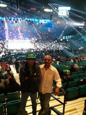 Shelley attended Premier Boxing Champions: Wilder vs. Ortiz II on Nov 23rd 2019 via VetTix
