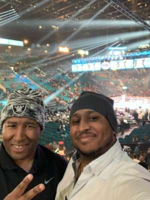 Ben attended Premier Boxing Champions: Wilder vs. Ortiz II on Nov 23rd 2019 via VetTix