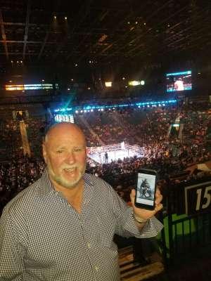 Wilbur attended Premier Boxing Champions: Wilder vs. Ortiz II on Nov 23rd 2019 via VetTix