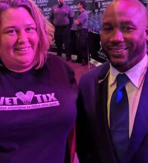 Katrina attended Premier Boxing Champions: Wilder vs. Ortiz II on Nov 23rd 2019 via VetTix