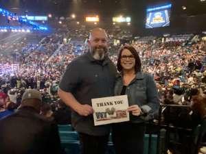 Todd attended Premier Boxing Champions: Wilder vs. Ortiz II on Nov 23rd 2019 via VetTix