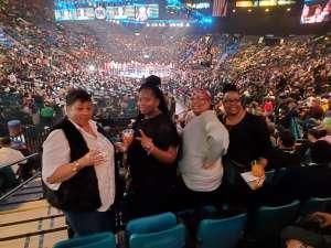 willie attended Premier Boxing Champions: Wilder vs. Ortiz II on Nov 23rd 2019 via VetTix