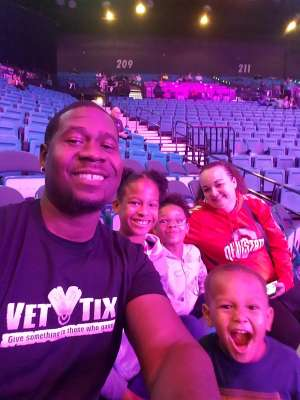 Grover attended Premier Boxing Champions: Wilder vs. Ortiz II on Nov 23rd 2019 via VetTix
