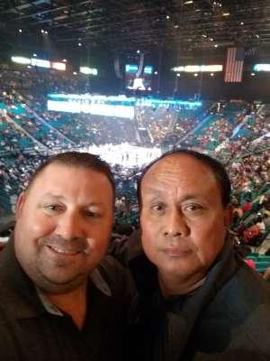 Charles attended Premier Boxing Champions: Wilder vs. Ortiz II on Nov 23rd 2019 via VetTix