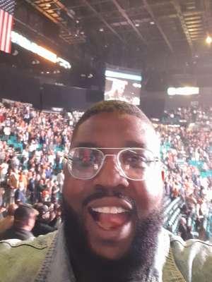 Lawrence attended Premier Boxing Champions: Wilder vs. Ortiz II on Nov 23rd 2019 via VetTix