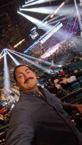 Orlando attended Premier Boxing Champions: Wilder vs. Ortiz II on Nov 23rd 2019 via VetTix