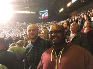Cailin attended Premier Boxing Champions: Wilder vs. Ortiz II on Nov 23rd 2019 via VetTix