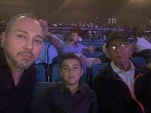 Javier attended Premier Boxing Champions: Wilder vs. Ortiz II on Nov 23rd 2019 via VetTix