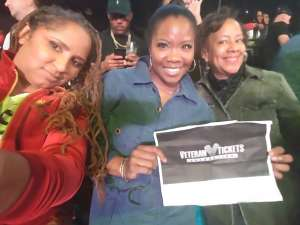 KITTRA attended Premier Boxing Champions: Wilder vs. Ortiz II on Nov 23rd 2019 via VetTix
