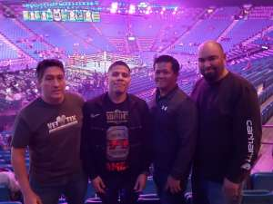 Benjamin attended Premier Boxing Champions: Wilder vs. Ortiz II on Nov 23rd 2019 via VetTix