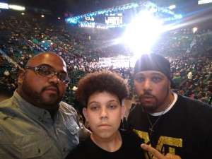 JUAN attended Premier Boxing Champions: Wilder vs. Ortiz II on Nov 23rd 2019 via VetTix