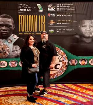 Victor attended Premier Boxing Champions: Wilder vs. Ortiz II on Nov 23rd 2019 via VetTix