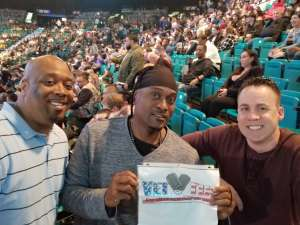 Toure' Sundiata attended Premier Boxing Champions: Wilder vs. Ortiz II on Nov 23rd 2019 via VetTix