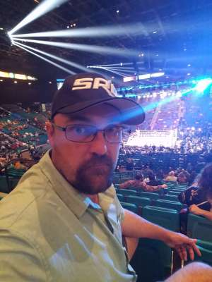 Mark attended Premier Boxing Champions: Wilder vs. Ortiz II on Nov 23rd 2019 via VetTix