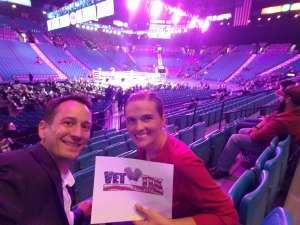 Michael attended Premier Boxing Champions: Wilder vs. Ortiz II on Nov 23rd 2019 via VetTix