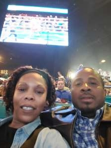 Gaither  attended Premier Boxing Champions: Wilder vs. Ortiz II on Nov 23rd 2019 via VetTix