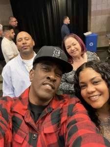 Kenneth attended Premier Boxing Champions: Wilder vs. Ortiz II on Nov 23rd 2019 via VetTix