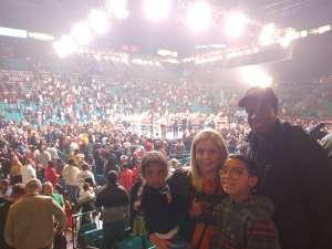 Natllely attended Premier Boxing Champions: Wilder vs. Ortiz II on Nov 23rd 2019 via VetTix
