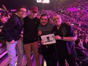Gus attended Premier Boxing Champions: Wilder vs. Ortiz II on Nov 23rd 2019 via VetTix