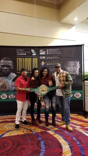 Ronald attended Premier Boxing Champions: Wilder vs. Ortiz II on Nov 23rd 2019 via VetTix