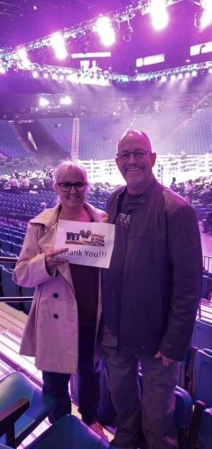 Paul attended Premier Boxing Champions: Wilder vs. Ortiz II on Nov 23rd 2019 via VetTix