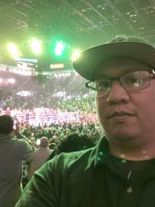 Radley attended Premier Boxing Champions: Wilder vs. Ortiz II on Nov 23rd 2019 via VetTix