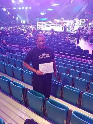 Will  attended Premier Boxing Champions: Wilder vs. Ortiz II on Nov 23rd 2019 via VetTix