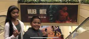 Joseph attended Premier Boxing Champions: Wilder vs. Ortiz II on Nov 23rd 2019 via VetTix