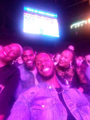 SHANIA attended Premier Boxing Champions: Wilder vs. Ortiz II on Nov 23rd 2019 via VetTix