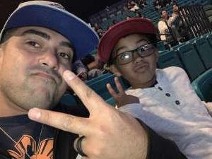 Vincent attended Premier Boxing Champions: Wilder vs. Ortiz II on Nov 23rd 2019 via VetTix