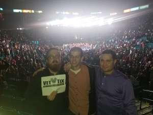 Jesse attended Premier Boxing Champions: Wilder vs. Ortiz II on Nov 23rd 2019 via VetTix