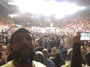 KYRON attended Premier Boxing Champions: Wilder vs. Ortiz II on Nov 23rd 2019 via VetTix