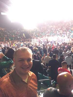 Lucas attended Premier Boxing Champions: Wilder vs. Ortiz II on Nov 23rd 2019 via VetTix