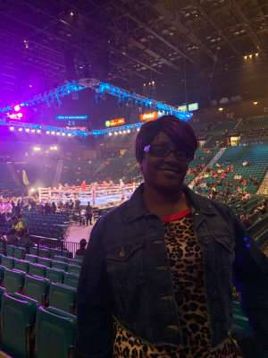 Regina attended Premier Boxing Champions: Wilder vs. Ortiz II on Nov 23rd 2019 via VetTix