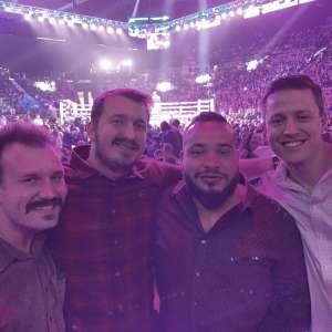 Jaymes attended Premier Boxing Champions: Wilder vs. Ortiz II on Nov 23rd 2019 via VetTix