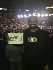 Ajani attended Premier Boxing Champions: Wilder vs. Ortiz II on Nov 23rd 2019 via VetTix